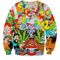 Trippy Drugs Sweatshirt