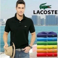 HOT LACOSTE?MENS?POLO T?SHIRT?15 COLORS