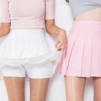 AA wild spring models pleated skirt tennis skirt A word skirt College wind  female students