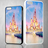 disney castle V1111 iPhone 4S 5S 5C 6 6Plus, iPod 4 5, LG G2 G3 Nexus 4 5, Sony Z2 Case