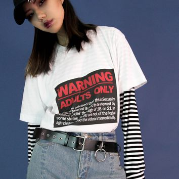 Adult Only Unisex Tee