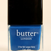 Butter London Blagger Blue Nail Lacquer