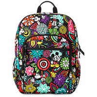 Disney Mickey's Magical Blooms Campus Backpack by Vera Bradley New with Tags