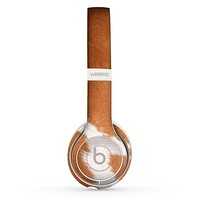 The Real Brown Cow Coat Texture Skin Set for the Beats by Dre Solo 2 Wireless Headphones