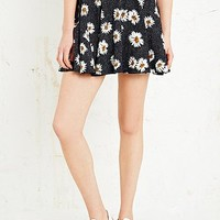 Cooperative Pin Dot Skater Skirt in Daisy Print - Urban Outfitters