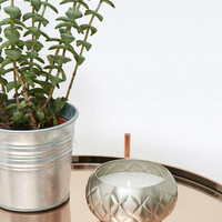 Silver Tin Candle - Urban Outfitters
