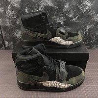 Air Jordan Legacy 312 Camouflage Black Basketball Shoes