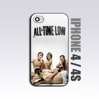 All Time Low Personal - For iPhone 4 or 4S Black Case / Cover