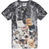On The Byas - The Mountain Kitten T-Shirt - Mens Tee - White