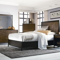 Kateri Queen Curved Panel Bed
