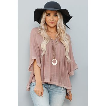 Love For You Top (Mauve)