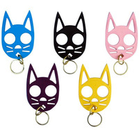 Cat Self Defense Keychain