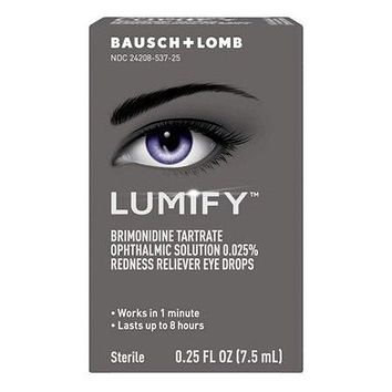 Lumify Redness Reliever Eye Drops, 0.25 Oz
