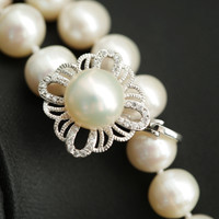 Gift New Arrival Jewelry Shiny Pearls Creative Luxury Stylish Sweater Chain Accessory Necklace [4914865604]
