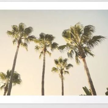 Palms. At the beach. Loving summer by Guido Montañés
