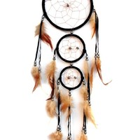 Dream Catcher with Feather Car or Wall Hanging Ornament (With a Betterdecor Gift Bag)