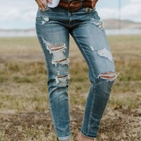 Your Favorite Boyfriend Jeans - Light