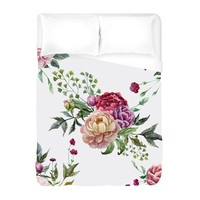 Pretty Peonies Duvet Cover