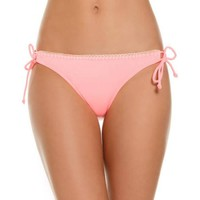 Women's Just Beach Adjustable Tie Side Hipster Swimsuit Bottom - Walmart.com