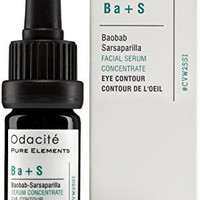 Odacit Ba+S: All Natural Baobab Sarsaparilla Serum Concentrate for Eye Contour - Reduces Wrinkles & Increases Skin Elasticity