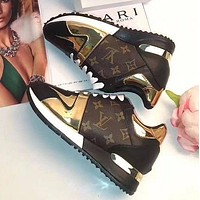 LV Louis Vuitton Popular Fashion Woman Casual Sport Shoes Sneakers I