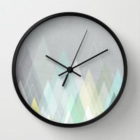 Graphic 108 Wall Clock by Mareike Böhmer Graphics