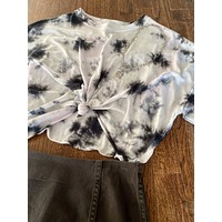 Twist Tie Dye Crop Top