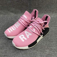 """""""Adidas"""" NMD Human Race Pink Leisure Running Sports Shoes"""