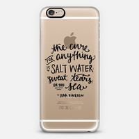 iPhone Case // Hand Lettering // Salt Water Cure