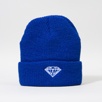 Brilliant Fold Beanie in Royal Blue