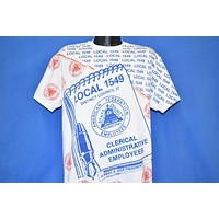 90s AFSCME Local Union 1549 t-shirt Large