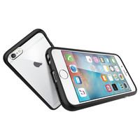 The Black and Clear Ultra Hybrid Bumper iPhone 6/6s Case