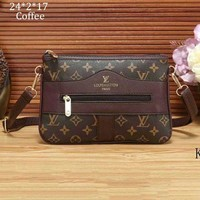 LV tide brand female retro shoulder bag handbag diagonal female bag