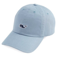 Vineyard Vines Signature Whale Logo Baseball Hat- Barracuda