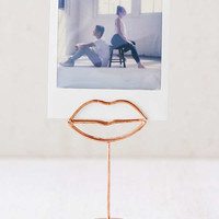 Lips Photo Clip | Urban Outfitters