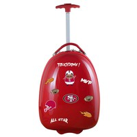 San Francisco 49ers Kids Luggage-RED