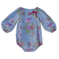 baby girls romper, playsuit, long sleeve, autumn/ winter, sz NB - 2 years