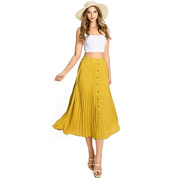 Millie Pleat Skirt