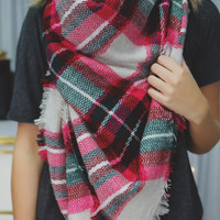 Sealed With A Kiss Scarf