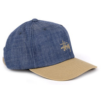 Stussy Smooth Denim Strapback Cap