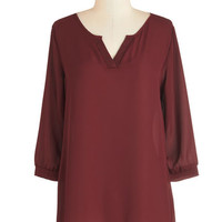 ModCloth Minimal Mid-length 3 Up for Anything Top