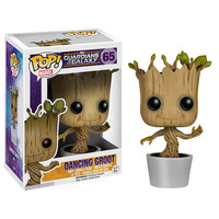 Dancing Baby Groot Guardians Of The Galaxy Pop Vinyl Figure