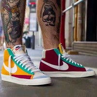 Nike Blazer Mid 77 VNTG Vintage Color Panel Sneakers