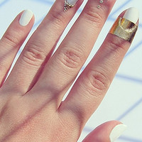 Rad Nails With The Band Cuticle Art