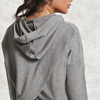 French Terry Split Back Hoodie