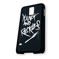 young and reckless Art Logo Samsung Galaxy S5 Case