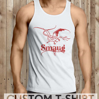 Smaug Lord Of The Rings Men Tanktop - tri1 Tanktop For Men  / Custom - Tanktop / Men Tanktop