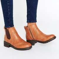 New Look Chunky Chelsea Boot at asos.com