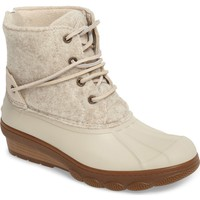 Sperry Saltwater Tide Wedge Boot (Women's Shoes) | Nordstrom