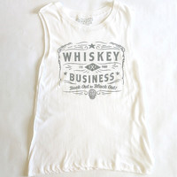Social Decay Whiskey Business Muscle Tee